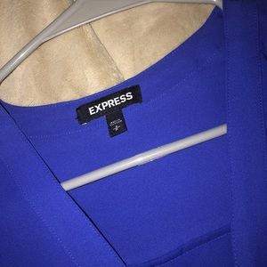 Blue Express Blouse